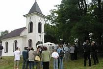 Kaple v Rusíně.