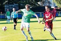 Fotbalisté Slavoje Bruntál vydřeli v nedělním zápase I.A třídy nad velice kvalitním týmem Heřmanic tři body za vítězství v poměru 3:2.