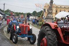 Dožínky ve Slezských Rudolticích na Osoblažsku jsou připomínkou tradic a oslavou sklizené úrody.