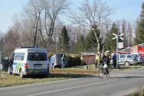 V Krnově na Petrovické ulici došlo v pátek 20. března kolem 15. hodiny ke střetu osobního vlaku s dodávkou.