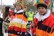 Podobně jako v sousední Světlé Hoře prošel v sobotu 9. února také Starým Městem u Bruntálu masopustní průvod.