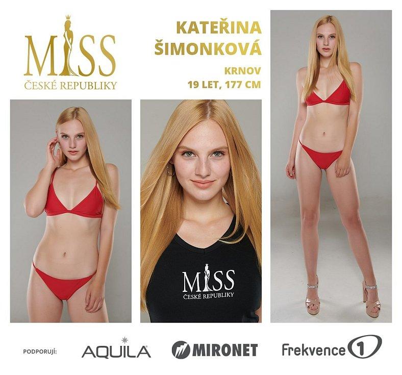 Finalistka soutěže Miss České republiky Kateřina Šimonková z Krnova už má bohaté zkušenosti také ze světa modelingu. V těchto dnech slaví dvacáté narozeniny.