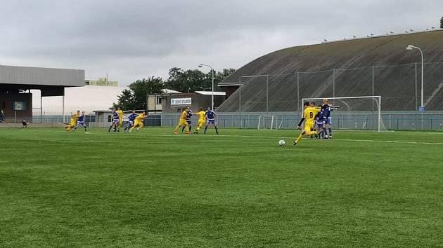 Fotbalisté Krnova prohráli s Baníkem