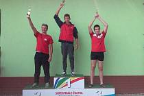 Roman Procházka ukázal, že nemá konkurenci a po České poháru triumfoval i v Superfinále.