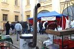 Vánoční trhy ve Slezských Rudolticích.