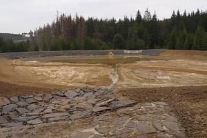 Klimešův rybník leží poblíž Roudna na potoku Rýžovníku. Právě prošel generální rekonstrukcí.