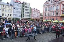 Krnovské hudební slavnosti 2008 byly ve znamení zimy a občasných přeháněk.