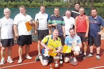 Už počtvrté se v Bruntále sešli amatérští tenisté na turnaji čtyřher.