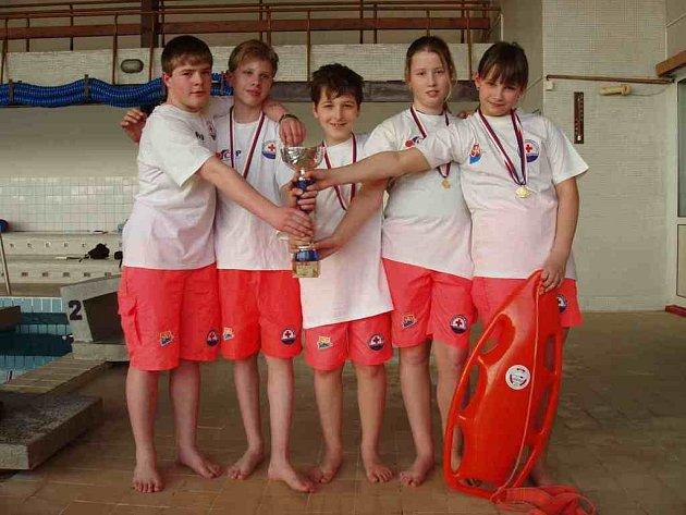 Mladí záchranáři z Krnova zvítězili.