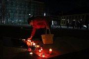 Připomenutí Dne boje za svobodu a demokracii v Krnově 17. listopadu 2018.