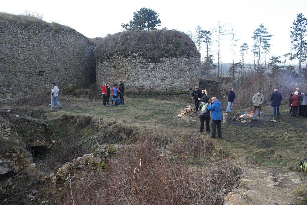 Zřícenina hradu Šelenburk.