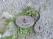 Nepoužitelný hydrant v Břidličné.