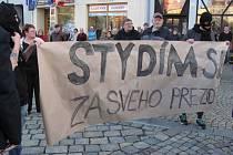 Do Krnova zavítal v úterý odpoledne prezident Miloš Zeman.