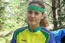 Bruntálská běžkyně Radka Sklenářová