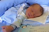 Jmenuji se ŠIMON RYS, narodil jsem se 3. dubna, při narození jsem vážil 3400 gramů a měřil 50 centimetrů. Moje maminka se jmenuje Iva Vodičková a můj tatínek se jmenuje Miloš Rys. Bydlíme v Krnově.