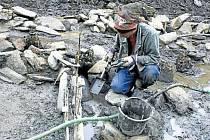 Archeologický výzkum v Suché Rudné.