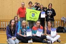 ŽÁCI ZŠ JELÍNKOVA z Rýmařova uspěli v krajském kole soutěže ve šplhu v Jablunkově.