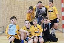 Malí fotbalisté Juventusu Bruntál na turnaji v Praze rozhodně nezklamali a nasbírali mnoho cenných fotbalových zkušeností.