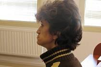 Recidivistka Olga Gabčová. I když se mužům po vypití několika piv a pár panácích kořalky líbila, do bytu by si ji raději brát neměli. Mohla by je okrást.