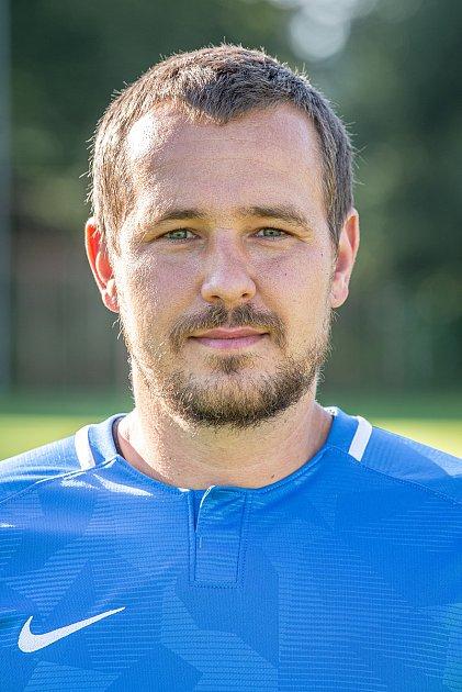 Fotbalový klub TJ Břidličná, 20.srpna 2020vBřidličné. Daniel Hoffmann, záložník