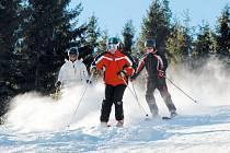 O víkendu se mohou návštěvníci sjezdovek těšit na ideální podmínky pro lyžování.