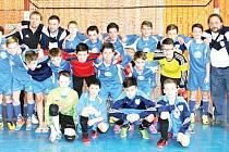 Přeborníkem OFS Bruntál v halové kopané se stali mladí fotbalisté FC SO Bruntál.