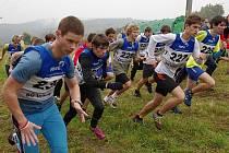 Stoupání ve vrbenské přírodě jsou náročná a prověří fyzičku závodníků.
