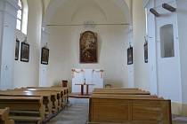 Dětřichovický kostel po rekonstrukci.