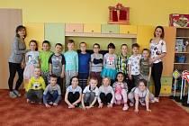 Mateřská škola Horní Benešov, velká třída pro předškoláky.