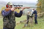 Tréninkové střelby na vrbenské střelnici.
