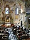 Koncert Štěpána Raka v Cvilínském kostele Panny Marie Sedmibolestné uzavřel v sobotu 2. září letošní ročník festivalu Setkání s duchovní hudbou.