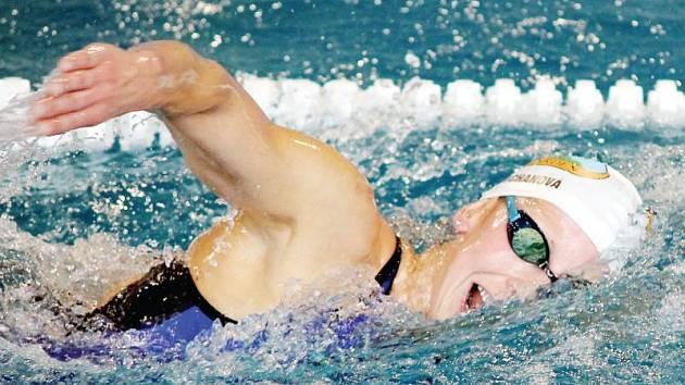 Jana Pechanová. Špičková česká plavkyně se po dvouleté mateřské vrátila ve velkém stylu.