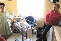 První občan Krnova narozený v roce 2013 je Sára Chlopčíková, která přišla na svět 4. ledna v 5.15 hodin.