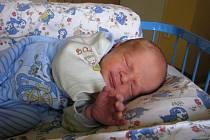 Michal Sedlář, narozen 28.6.2009, váha 2,845 kg, míra 48 cm, Bruntál. Maminka: Gabriela Sedlářová, tatínek: Zdeněk Sedlář.