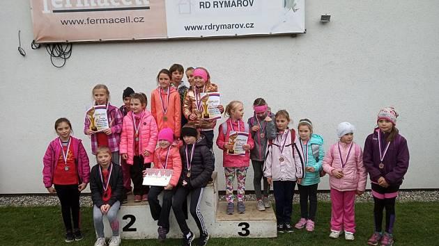 Přespolní běh – okresní kolo v Rýmařově.