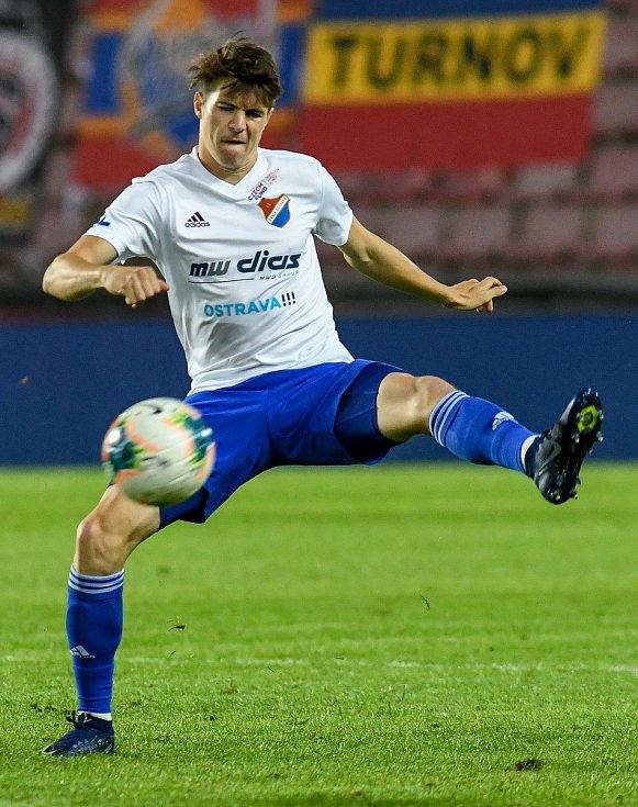 Ofenzivní záložník Baníku David Buchta - FORTUNA:LIGA - Skupina o titul - 2. kolo, AC Sparta Praha - FC Baník Ostrava, 23. června 2020 v Praze.