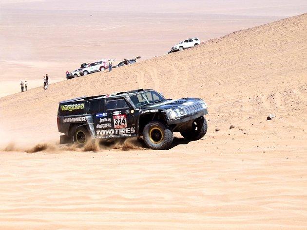 Desátá etapa Rally Dakar 2009.