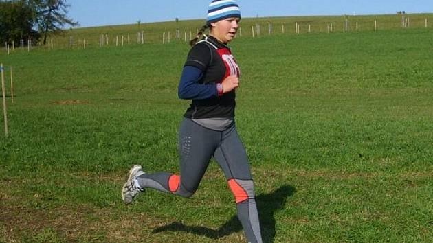 Běžkyně Martina Onderková.