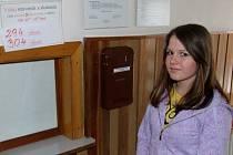 Tereza Smetanová z Velké Štáhle na obědy ve škole nechodí, po rekonstrukci ale uvažuje o koupi stravenek.