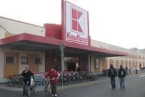 Krnovský Kaufland.