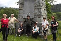 Pomník obětem první světové války u Markvartic byl poslední zastávkou.