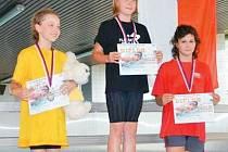 Bruntálským plaveckým nadějím se na Poháru žactva v Prostějově a Karviné dařilo.
