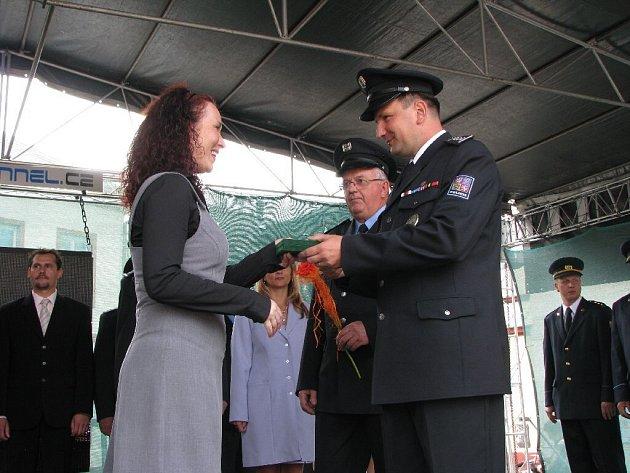 Třicet policistů dostalo medaili za věrnost při příležitosti oslav Dnů města Bruntál.