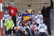 Vítězné družstvo turnaje starších přípravek FC Slavoj Bruntál A.
