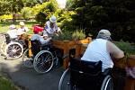 Centrum sociálních služeb pro seniory Pohoda. Snímek z programu volnočasových aktivit zdejších klientů.