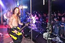 Rockem proti přehradě je hudební festival, který se odehrál již potřetí v Nových Heřminovech, aby upozornil na nesouhlas místních s plánovanou protipovodňovou nádrží.