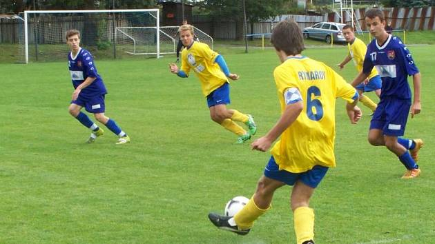 V domácím utkání krajského přeboru starších dorostenců remizovala rýmařovská Jiskra s Brušperkem 2:2.