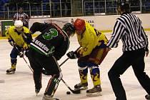 Mikulášské derby v sobotu 5. prosince 2009 vyhráli hokejisté Krnova, kteří porazili Horní Benešov 5:3.