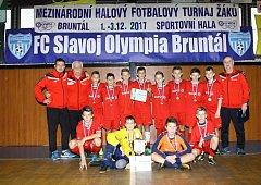 Letošní mezinárodního halový turnaj mladších žáků v Bruntále se povedl na výbornou.