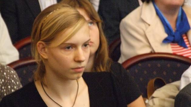 Plavkyně Hana Křemenová.